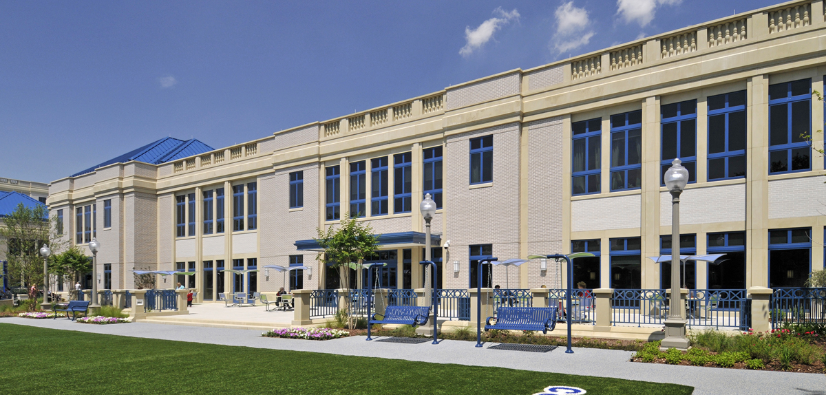 AAS Project: Cooks Children's Hospital | Manufactured Architectural Stone Matched Existing Limestone Buildings