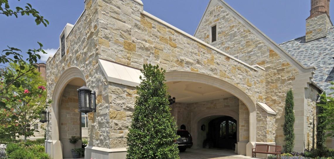 Dallas Country Club | Architectural Cast Stone Cladding + Hardscape in the Campus