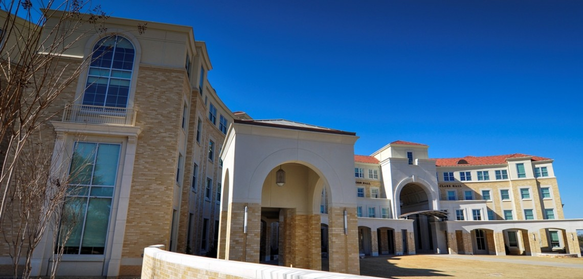 TCU Worth Hills Project - Architectural Stone Cladding | Large Complex Curved Stone Pieces | KSQ Architects | Wilks Masonry | 2014 Golden Trowel Award - See CASE STUDY...