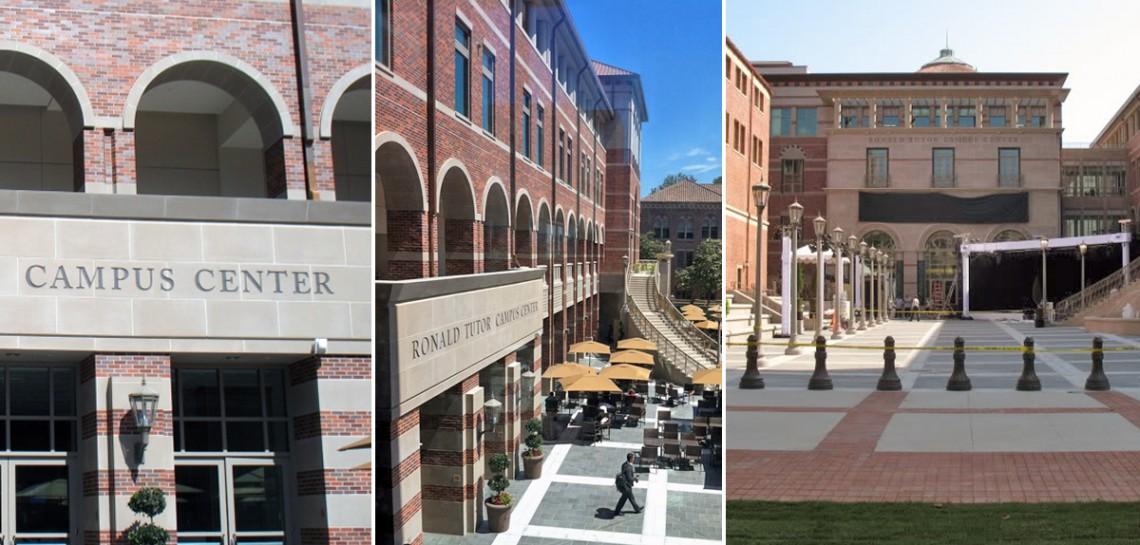 USC Ronald Tutor Center - Combined Cast Stone, Architectural Precast, GFRC with Seamless Design Effect