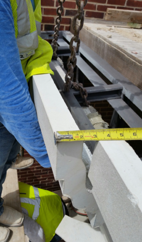 GFRC Products Create Finish of Stone with Desired Color and Finish with Built-in Frame, Anchors for Onsite Installation