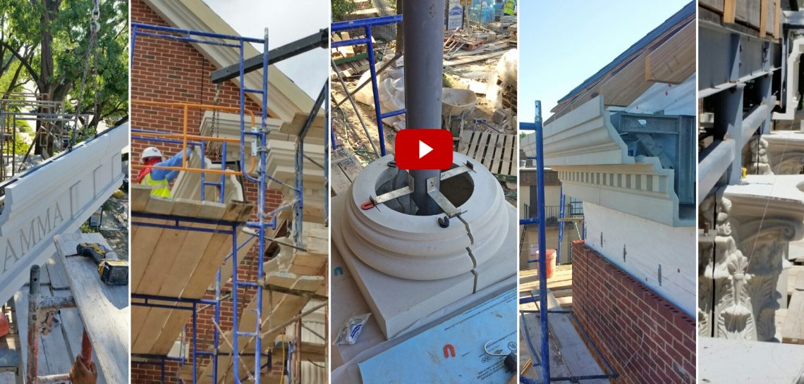 GFRC Installation Connections - Simpler Installation, Limitless Architectural Stone Design Options