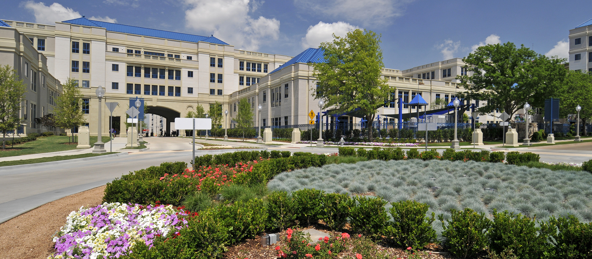 Cook Childrens Hospital | Exterior Stone Cladding using Cast Stone, Architectural Precast