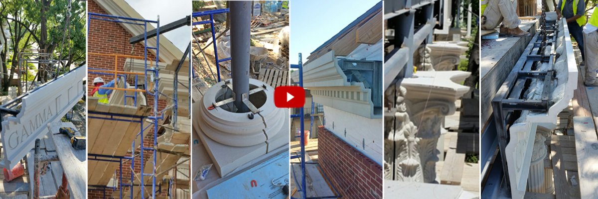 GFRC Panels with Pre-engineered Built-in Connections Provide Design Flexibiliity and Much Simpler Construction