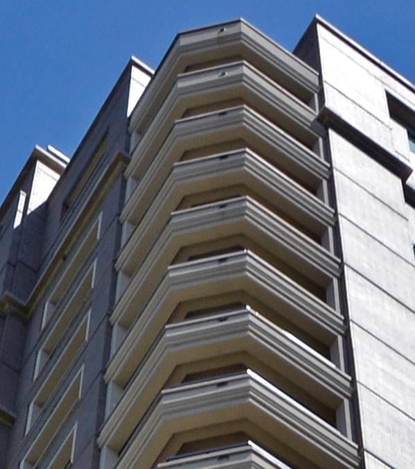 Stoneleigh Residential Tower | Matching Custom GFRC Panels on Balconies
