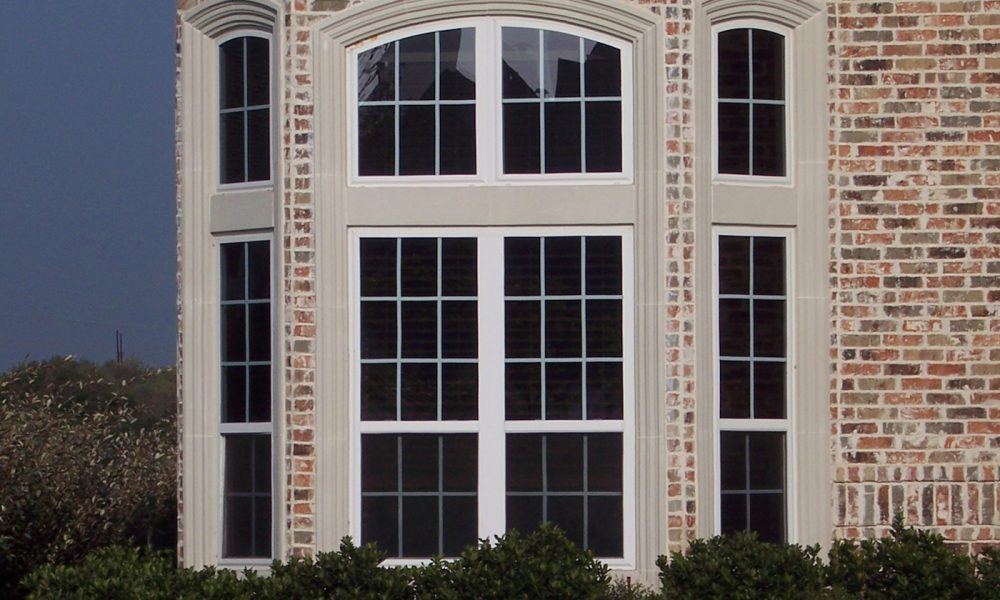 Architectural Trim, Window Surrounds with Matching Entry Way Design Aesthetic