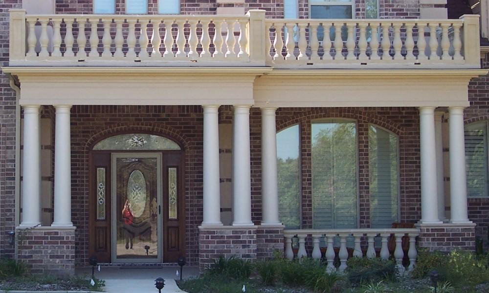 Cast Stone | Architectural Precast | Architectural GFRC | Columns, Balustrade System, Columns, Pier Caps, Architectural Trim