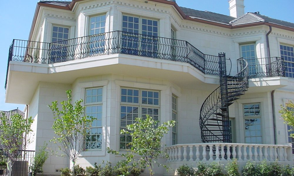 Window Surrounds and Trim, Balusters, Denteel Frieze Accent around Home | Custom White Color