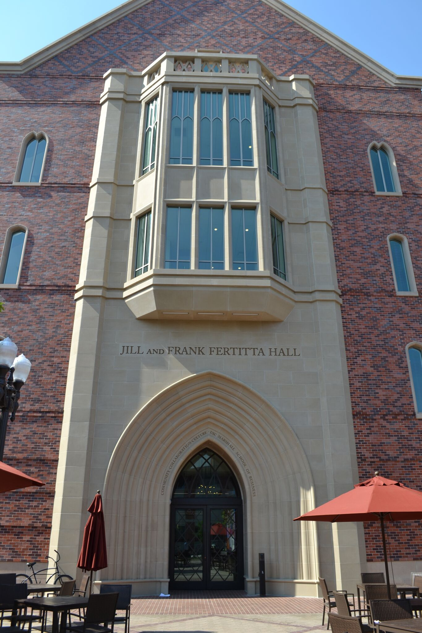 USC Fertitta Hall - North Entry Arch