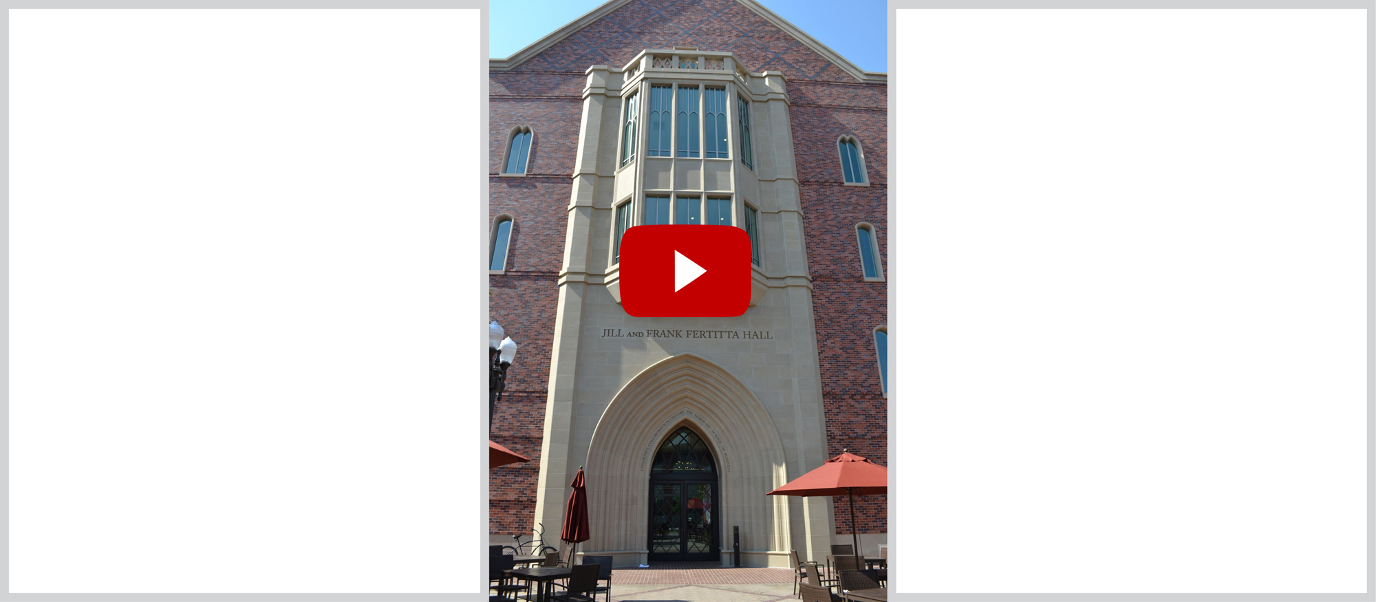 USC Fertitta Hall | Custom Design, Manufacturing of Architectural Stone | Built-in Pre-engineered Connections | Learn More about the Design Process: Video >>