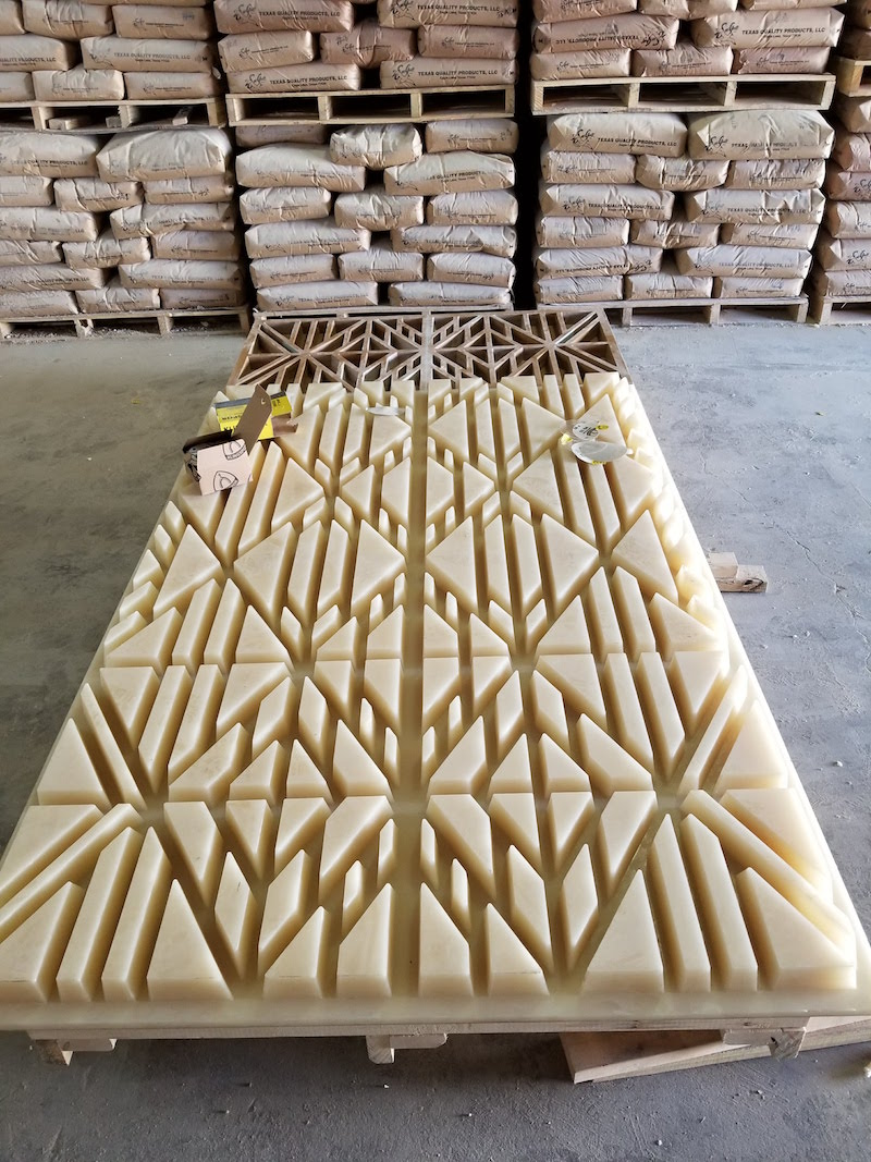 Custom Molds, Fabrication Technique for Large Size GFRC Panels