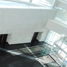 Manufactured Stone Veneer with Monolithic Stone Design Accent | Project: Higher Education Complex