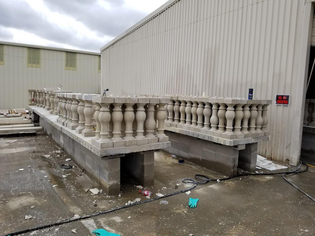 Wet-pour Precast Concrete Ballusters