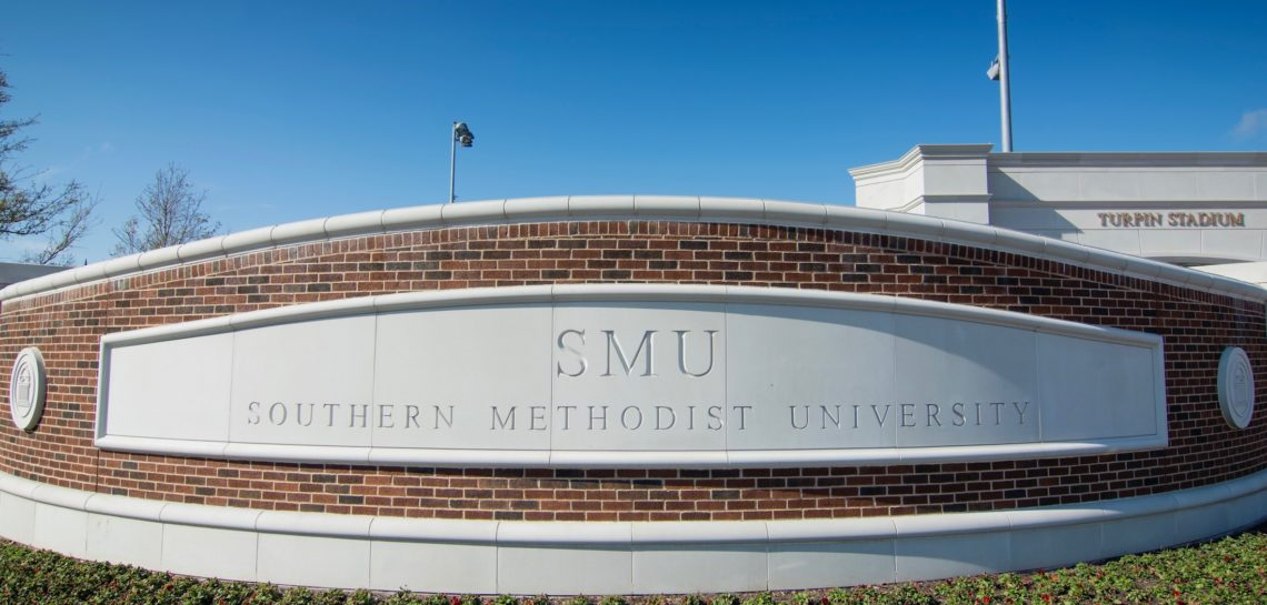 SMU Turpin Stadium - Custom Stone Manufacturing for Wall Coping, Signage, Cladding, Cornices and Banding Design