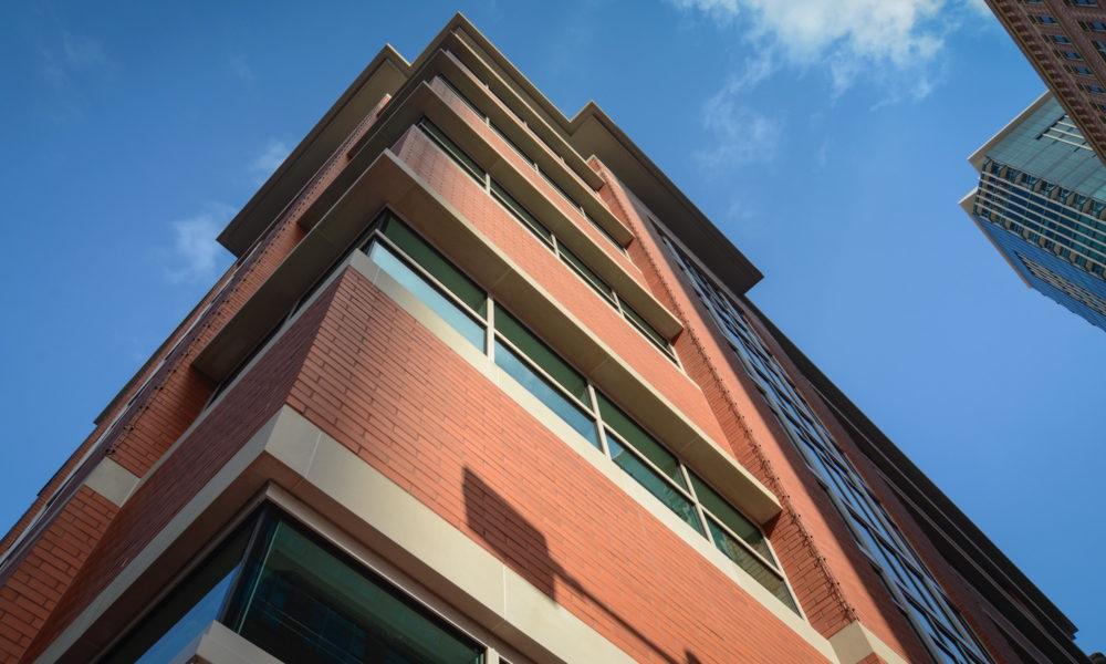Sundance Square Cassidy Building | Custom Fabricated Cast Stone Pieces for Monolithic Design