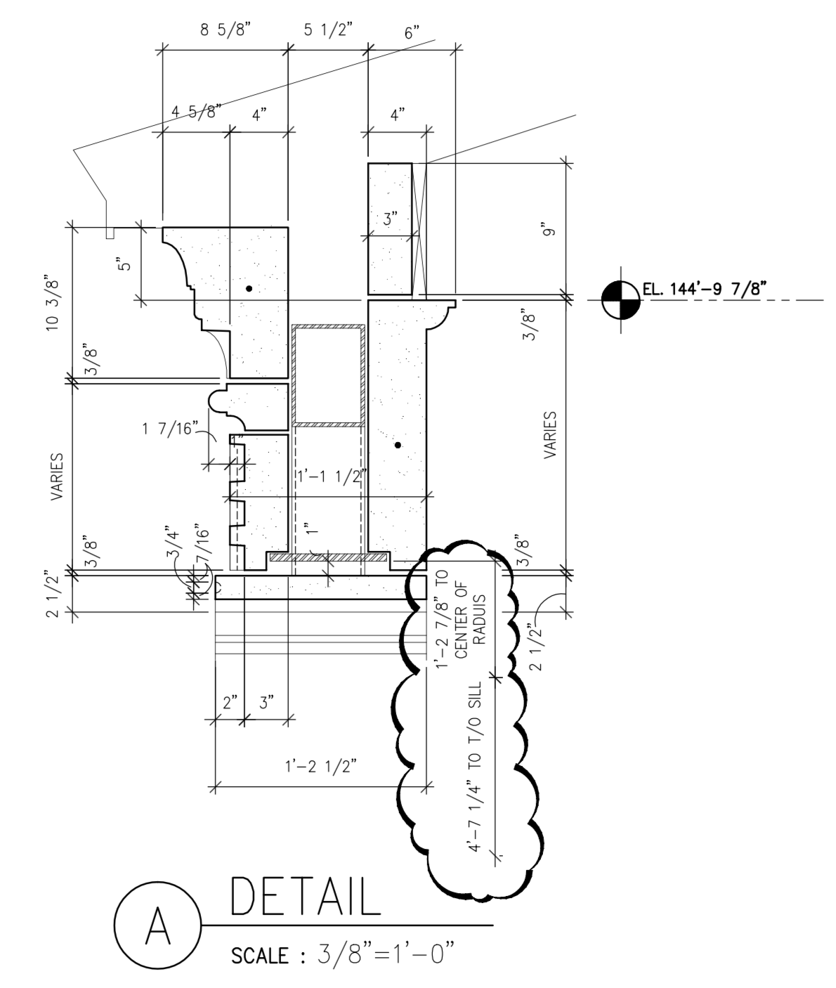 Shop Drawing - Details for Support, Anchorage, Installation Connections