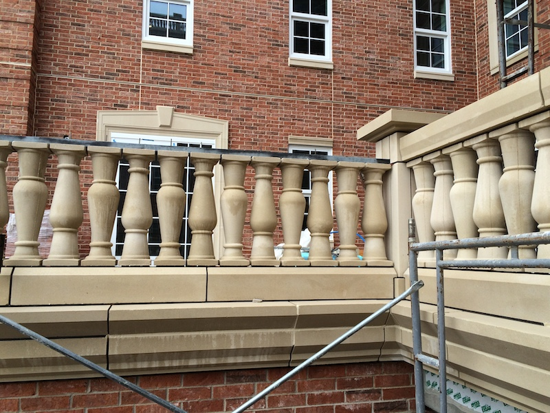 Balustrade system Design with Structural Tubing