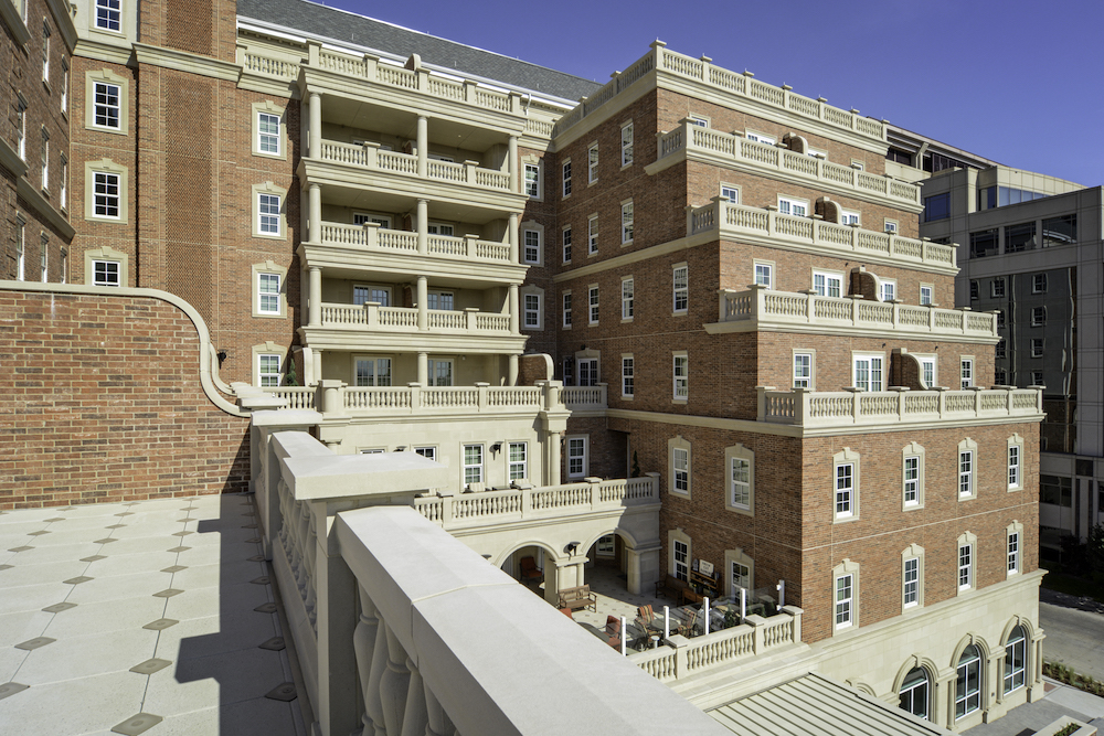Harborchase of Park Cities | Cast Stone Cladding with Unifying Design Accent