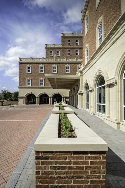Harborchase of Park Cities | Architectural Stone Cladding, Veneer, Coping Design using Cast Stone