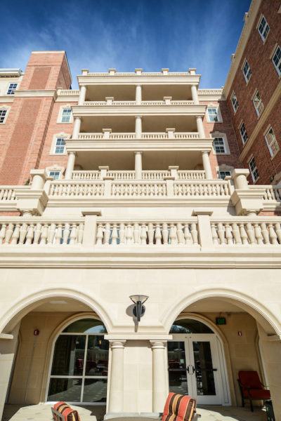 Harborchase of the Park Cities | Unified Design Accent with Custom Fabricated Cast Stone Panels