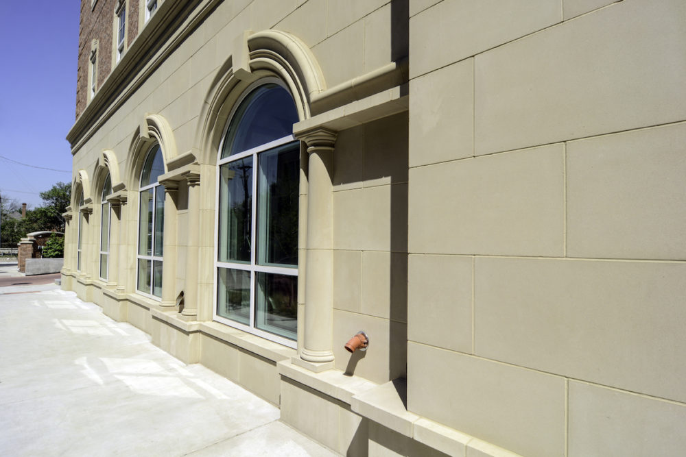 Precision Manufacturing with Custom Molds Enable Precise fit of Stone Panels | Design Flexibility with Manufactured Stone