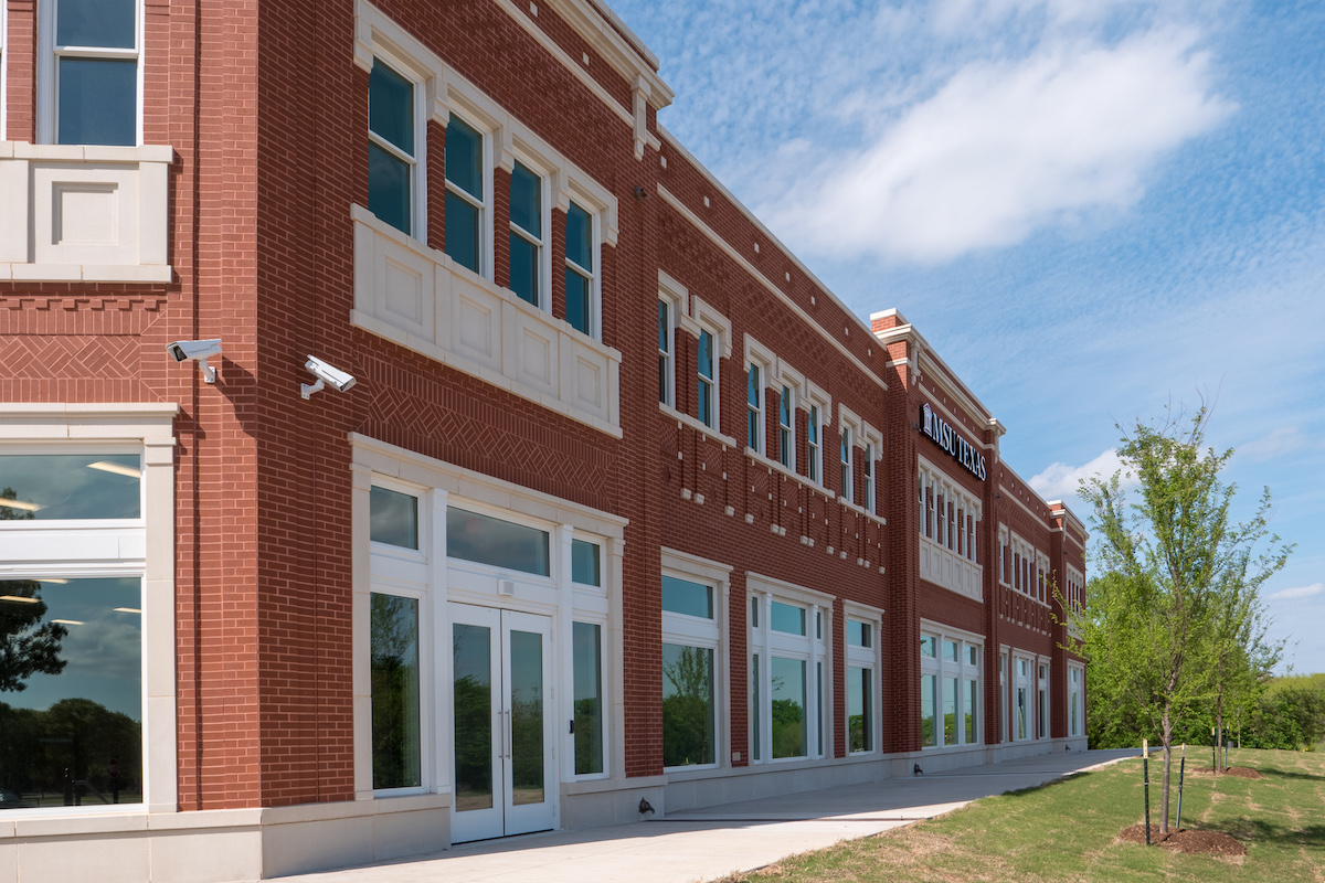 Parker Square - Trim for doors and windows unified overall cladding design aesthetic