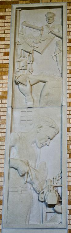 Creative Artwork using Architectural Cast Stone