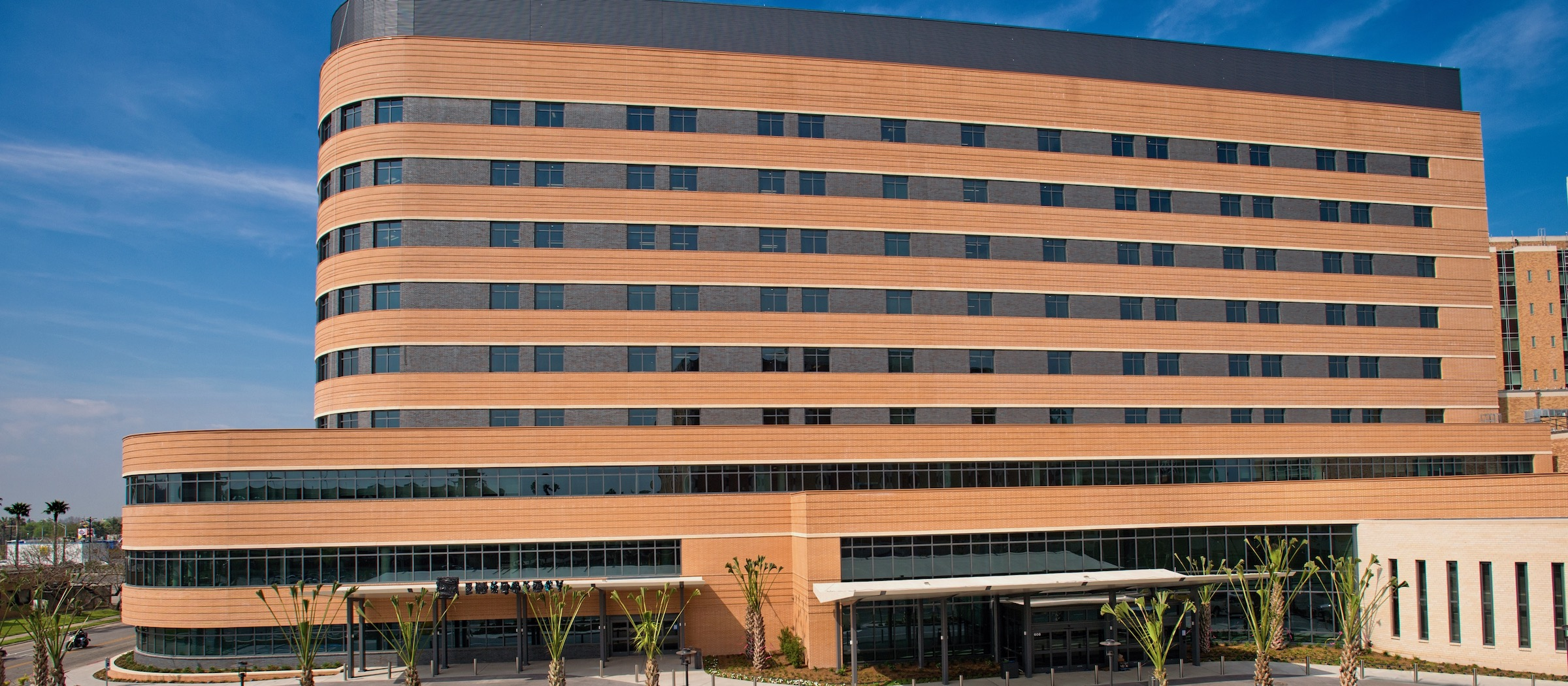 Christus Spohn Shoreline Hospital - Corpus Christi - Kirksey Architecture - Shadrock and Williams Masonry