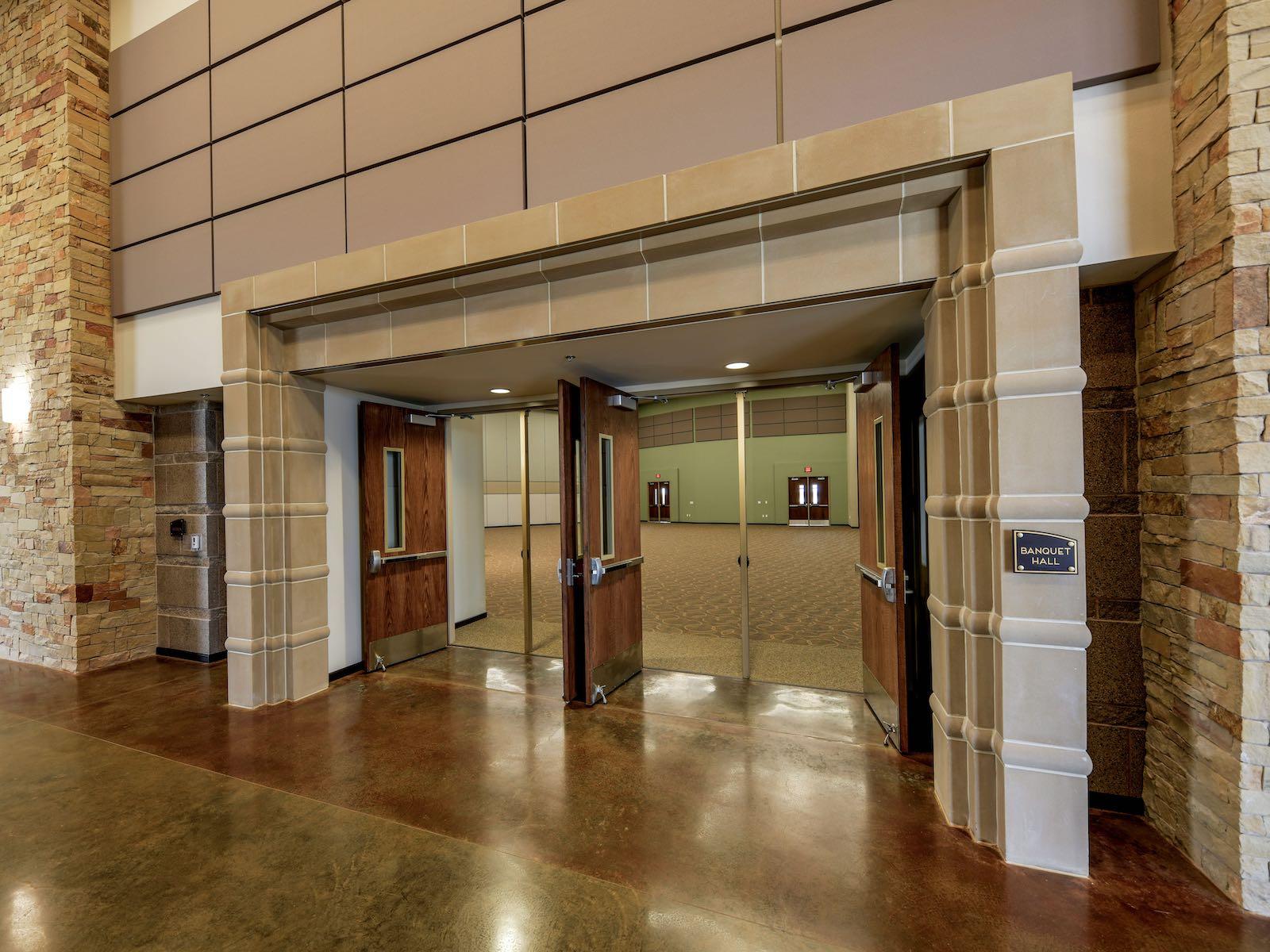 Interior Entryway Surround Trim - Cast Stone, GFRC