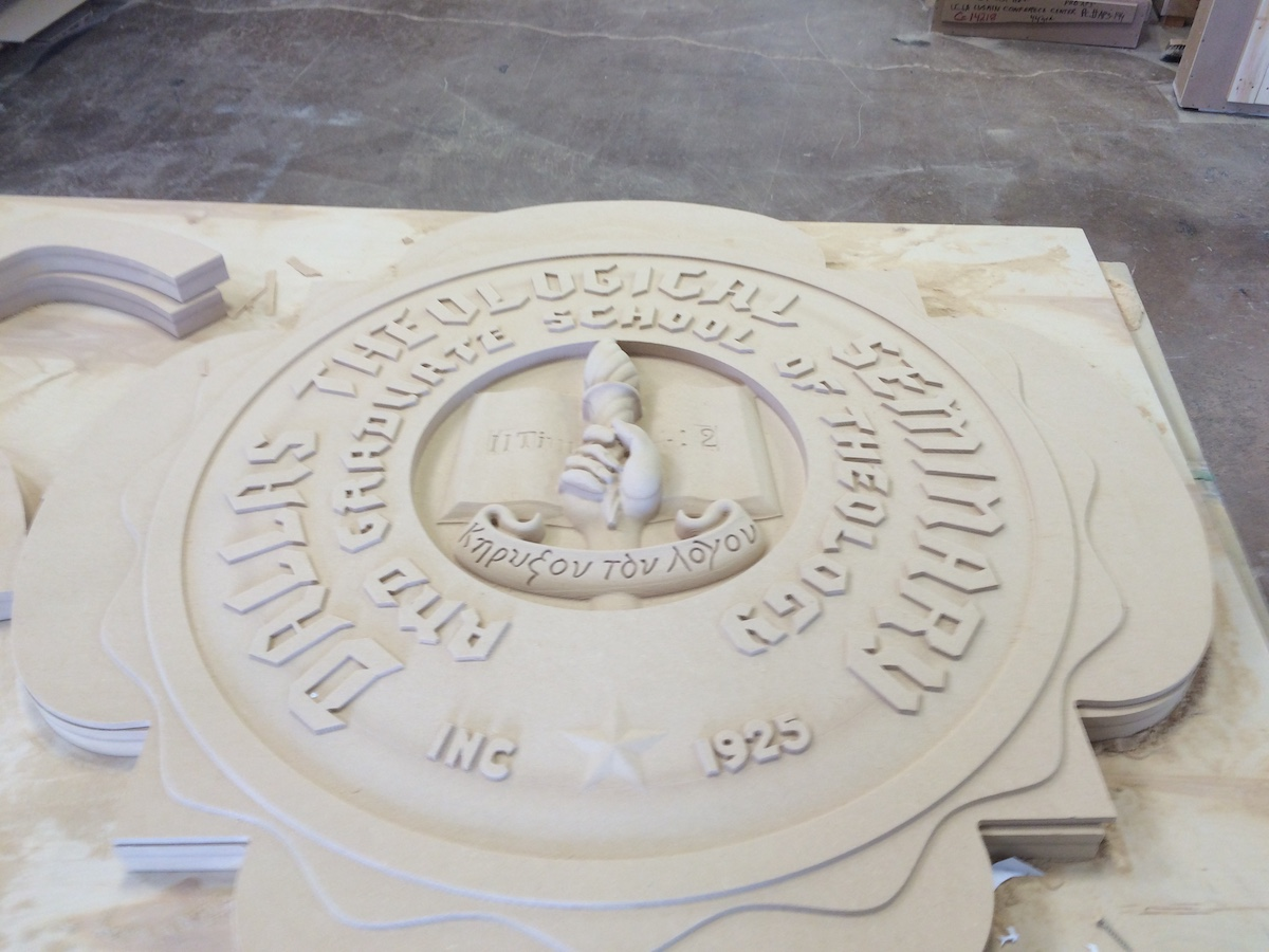 Seal Model cut on AAS CNC Machine | Project-specific Stone Design, Manufacturing